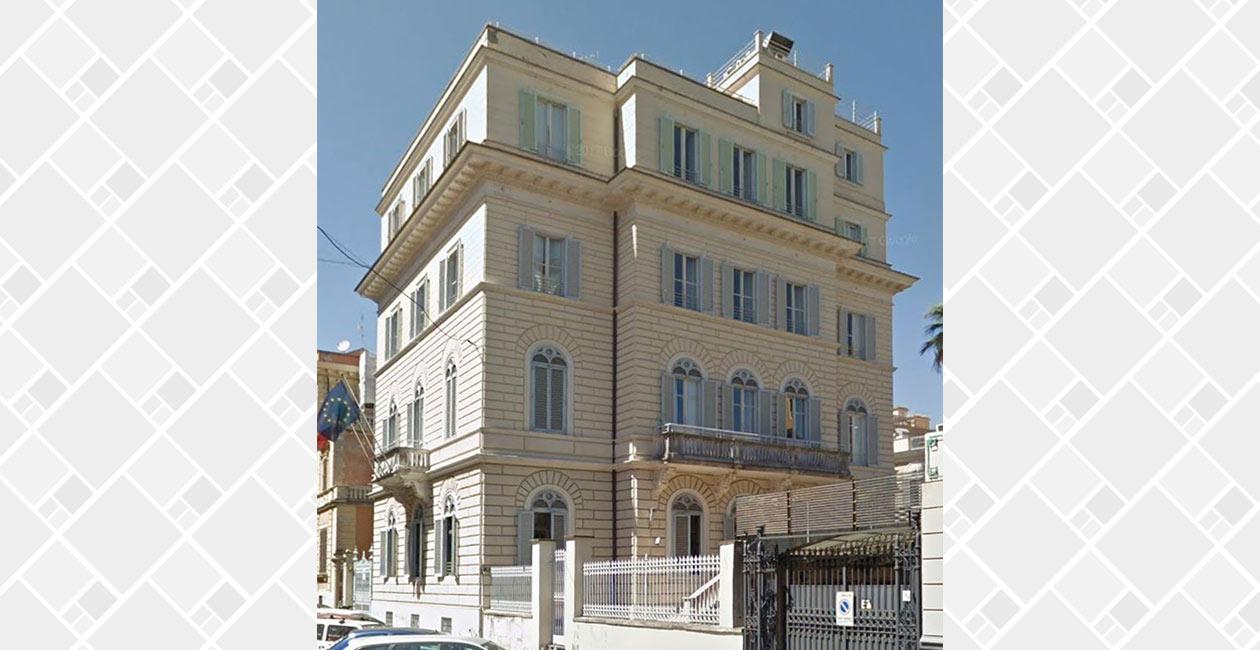Read more about the article Villino per la nuova sede dell'Unicef – Roma
